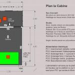 plan cabine légendes
